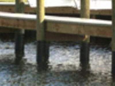 Dock Piling Wrap