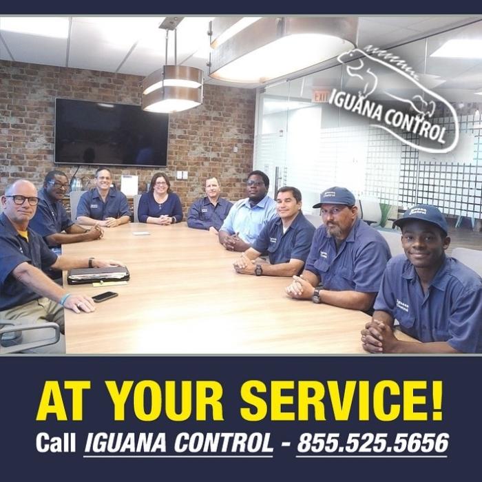Iguana Control Staff